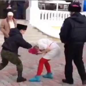 Pussy Riot Detained, Horsewhipped And Beaten By Cossacks For Protest During Sochi Olympics