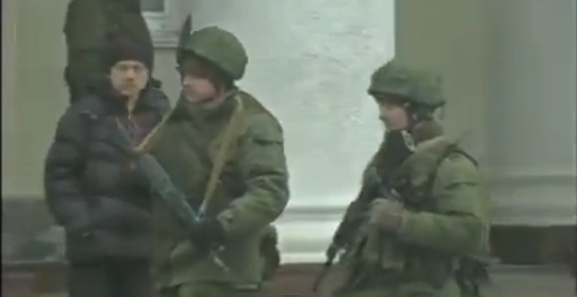 Here's A Bunch Of Russian Soldiers Pretending Not To Be Russian Soldiers