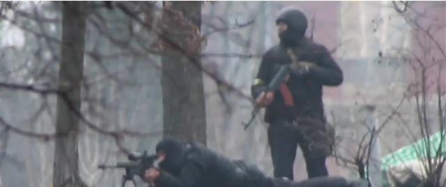 Has To Be Seen To Be Believed: Ukrainian Government Snipers Fire On Protesters Hours After Truce