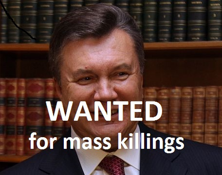 Ukrainian President Wanted For Mass Killings, Missing InAction