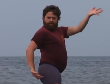 Throwback Thursday: Zach Galifianakis Is Everything In Fiona Apple's 2005 Music Video
