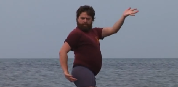 Throwback Thursday: Zach Galifianakis Is Everything In Fiona Apple's 2005 MusicVideo