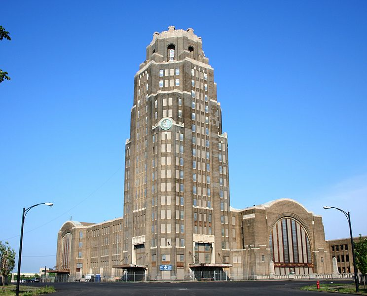 Buffalo Central Terminal. Photo by Dave Pape