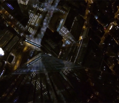 Must See Intense Video Of People BASE Jumping Off The World Trade Center
