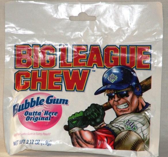 Big League Chew, Outta' Here Original Bubble Gum, 2.12-Ounce Pouches (Pack of 12)