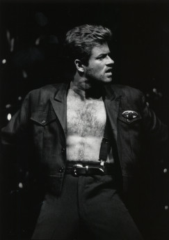 George Michael. Image by University of Houston Libraries.