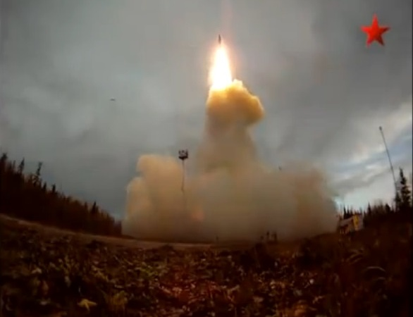Russia Test Fired An Intercontinental Ballistic MissileYesterday