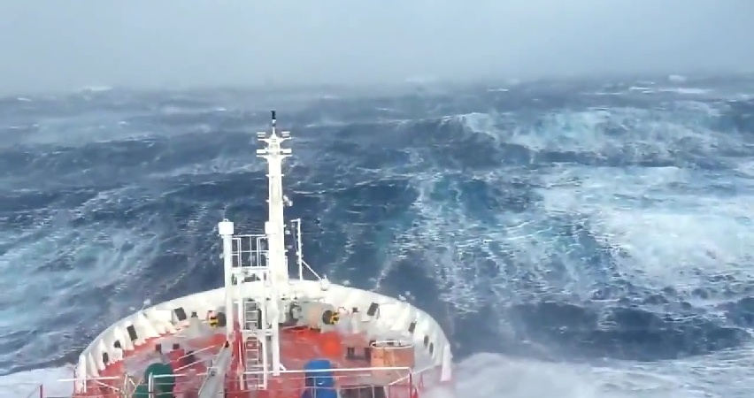 Watch These Giant Waves End The Search For The MalaysianFlight