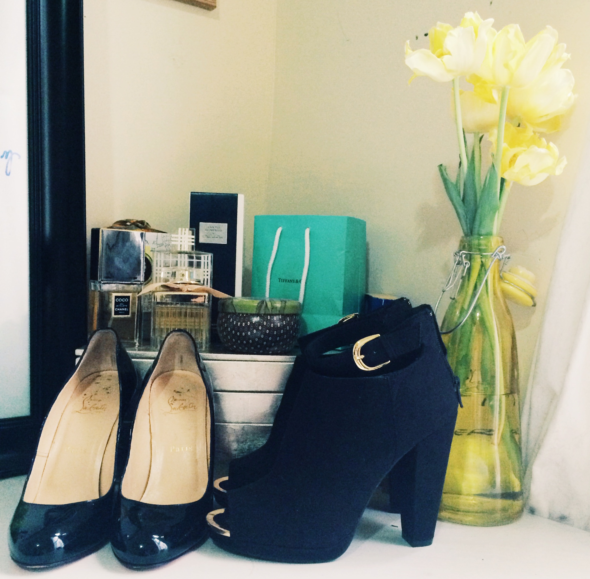 Shoes (from left): Christian Louboutin, H&M