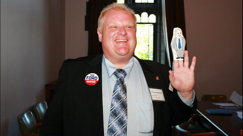 This May Be The Greatest Photo Of Rob Ford You Will Ever See