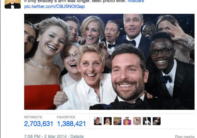 What Ellen's Oscar Selfie Tells Us AboutFame