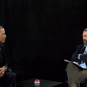 You Must Watch Zach Galifianakis Interview President Obama On 'Between Two Ferns'