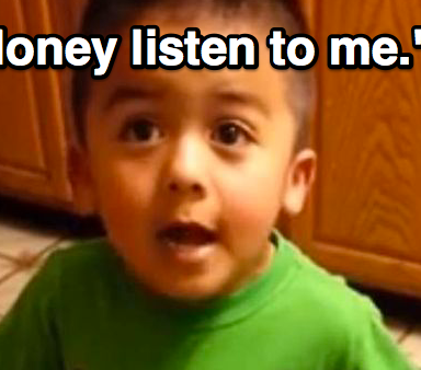 Watch This Impressive 3-Year-Old Negotiate Cupcakes For Dinner With His Mom