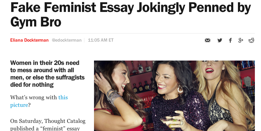 'Time' Accidentally Publishes Article About Thought Catalog