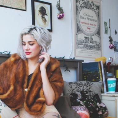 I'm A Vegetarian, But I'll Wear Fur If It's Vintage