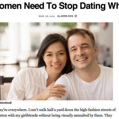Thank You, Thought Catalog, For Publishing Racist Satire