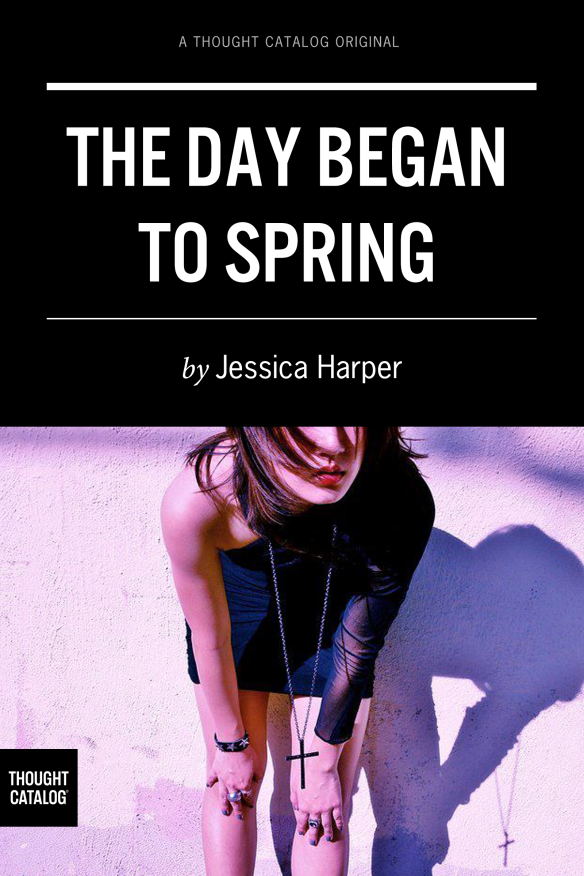 The Day Began To Spring cover