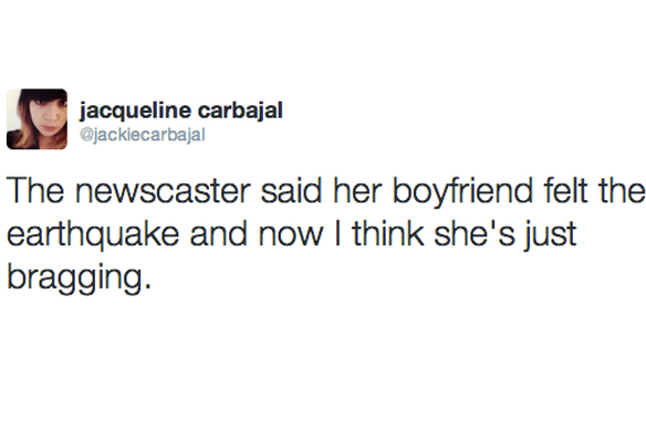 Twitter Responds To Los Angeles' 4.4  Earthquake In The Most Hilarious Way Possible