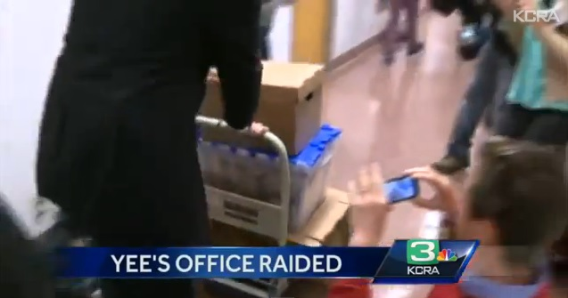 Yee Offices Raided by FBI via