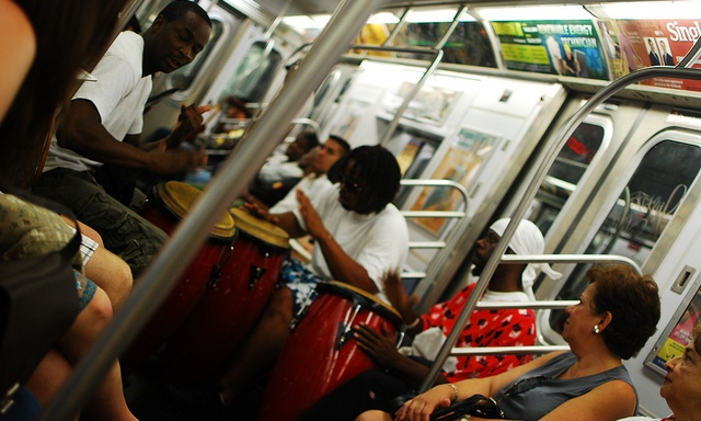 6 Types Of People You Don't Want To Sit Next To On ATrain