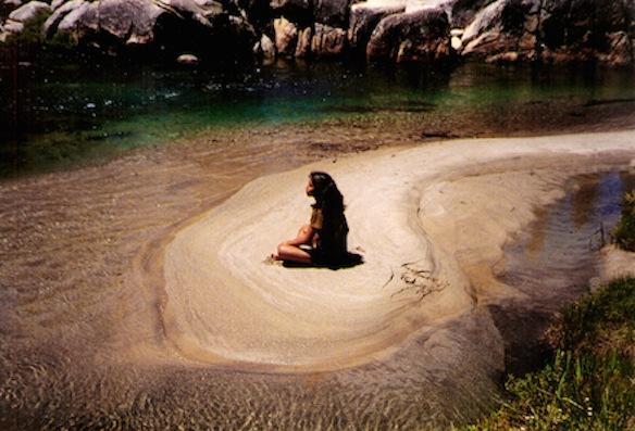 Me, meditating.
