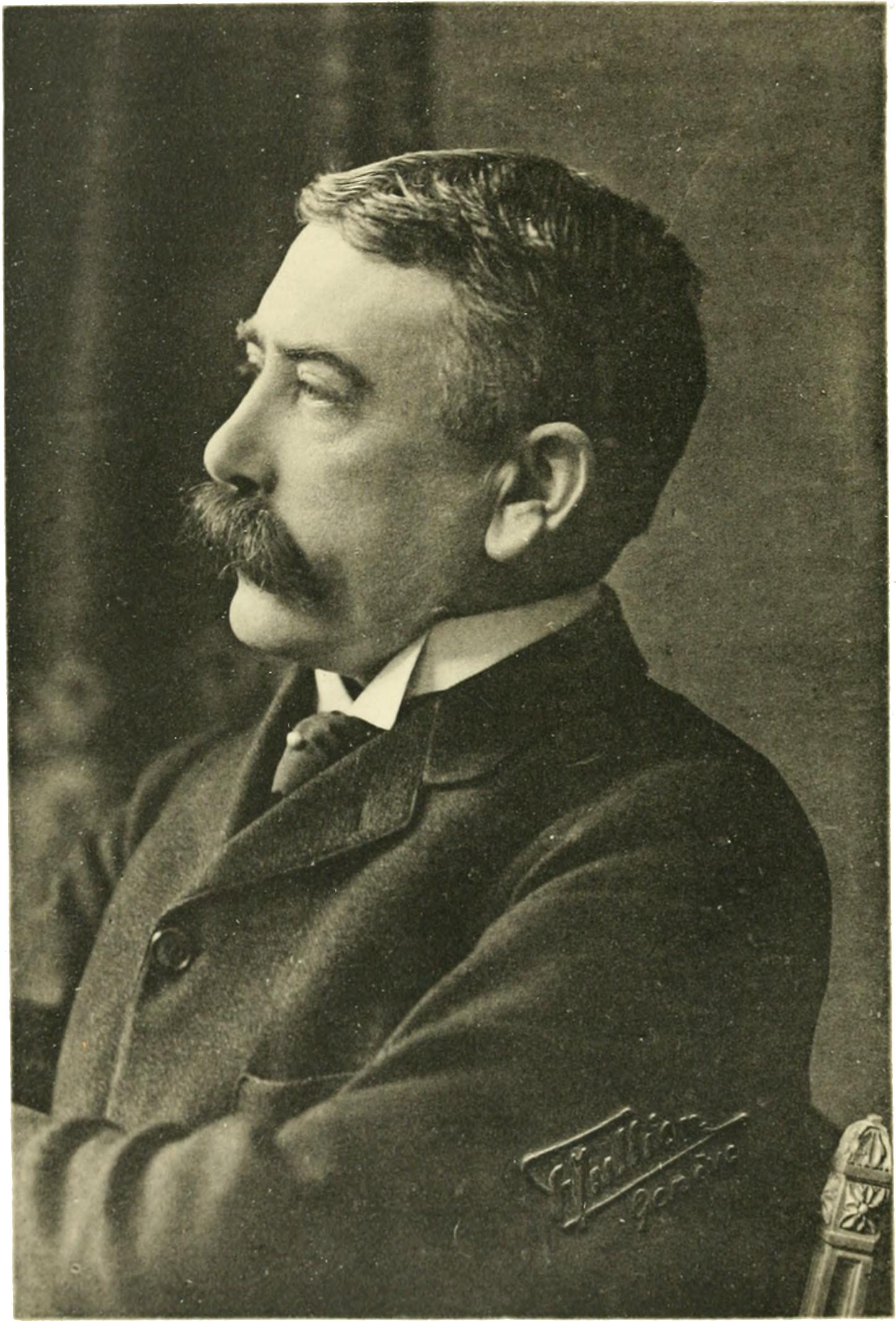 Ferdinand de Saussure Photography by F. Jullien Genève