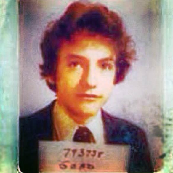 High-school photo, circa 1978.