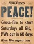late january 1973 chi sun-times peace ceasefire