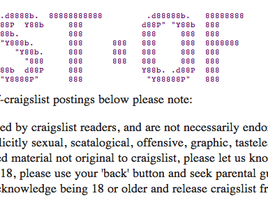 20 Hysterical Listings From Craigslist's Best Of 2014