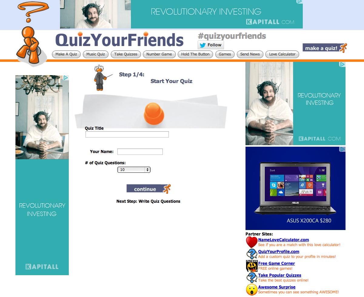 QuizYourFriends.com
