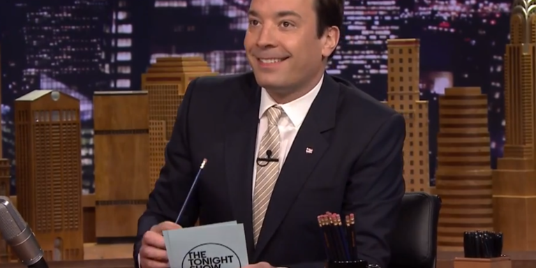 Jimmy Fallon's Hysterical David Letterman Tribute Will Leave You InTears