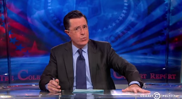 STEPHEN COLBERT IS REPLACING DAVID LETTERMAN AS HOST OF THE LATE SHOW!