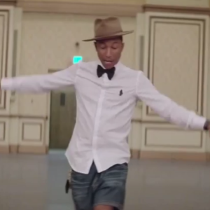"""Pharrell's """"Happy"""" Without Any Music Is Probably One Of The Creepiest Videos You'll See"""