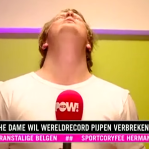 A Dutch News Segment Showed One Of Their Reporters Getting A Blowjob In The Middle Of An Interview