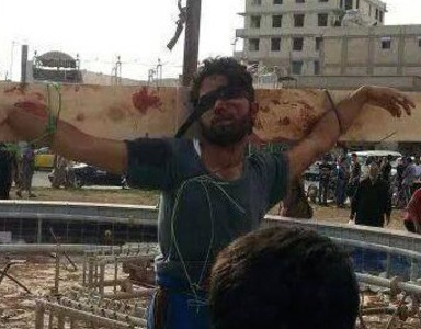 These Images Of Syrian Extremists Crucifying People, Executing Children Show The Brutal Reality Of Life There