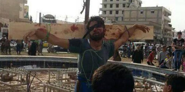 These Images Of Syrian Extremists Crucifying People, Executing Children Show The Brutal Reality Of LifeThere