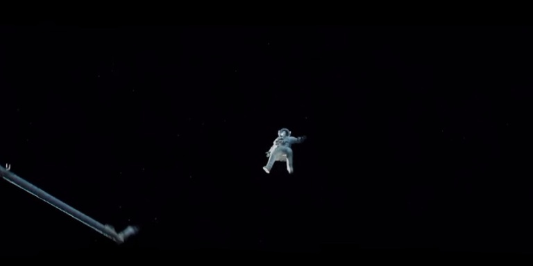 This Insane Hidden Scene In The Movie 'Gravity' Will Change Everything You Thought AboutIt