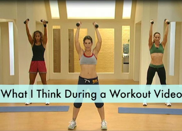 What We Think During Home WorkoutVideos