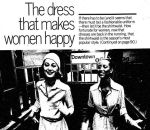 1973 ad shirtwaist women subway exit