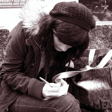 How To Love A Girl Who Writes
