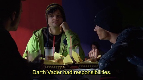 """""""He was responsible for the Death Star."""""""