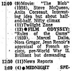 early march 1973 tv listings midnight mar 2