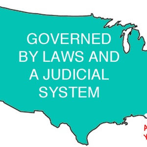 A Simple United States Map Showing How Laws Are Enforced In Each State