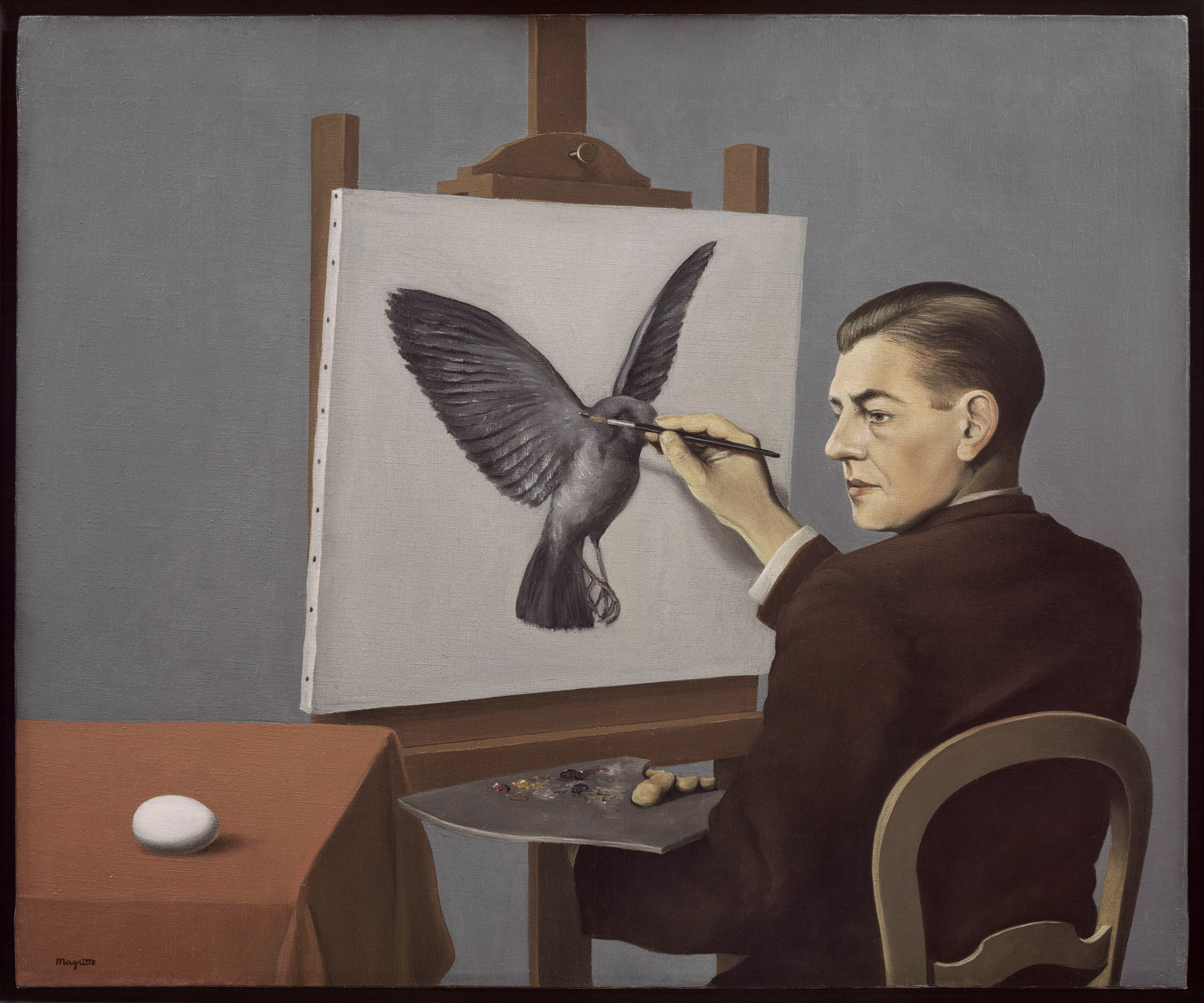 Clairvoyance, Rene Magritte