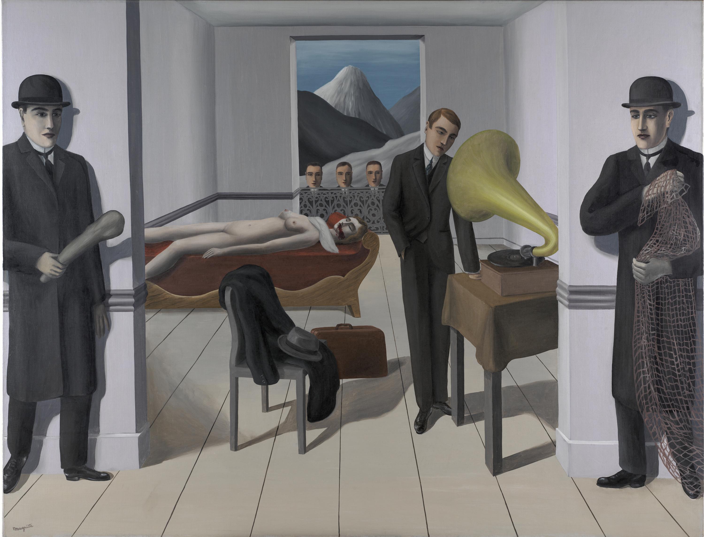 Menaced Assassin, René Magritte
