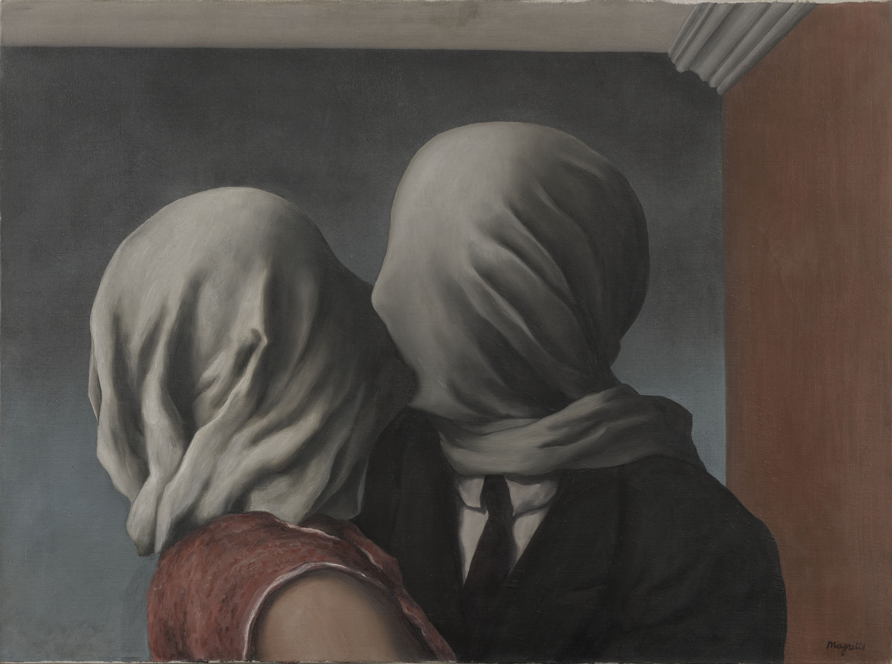 The Lovers, René Magritte