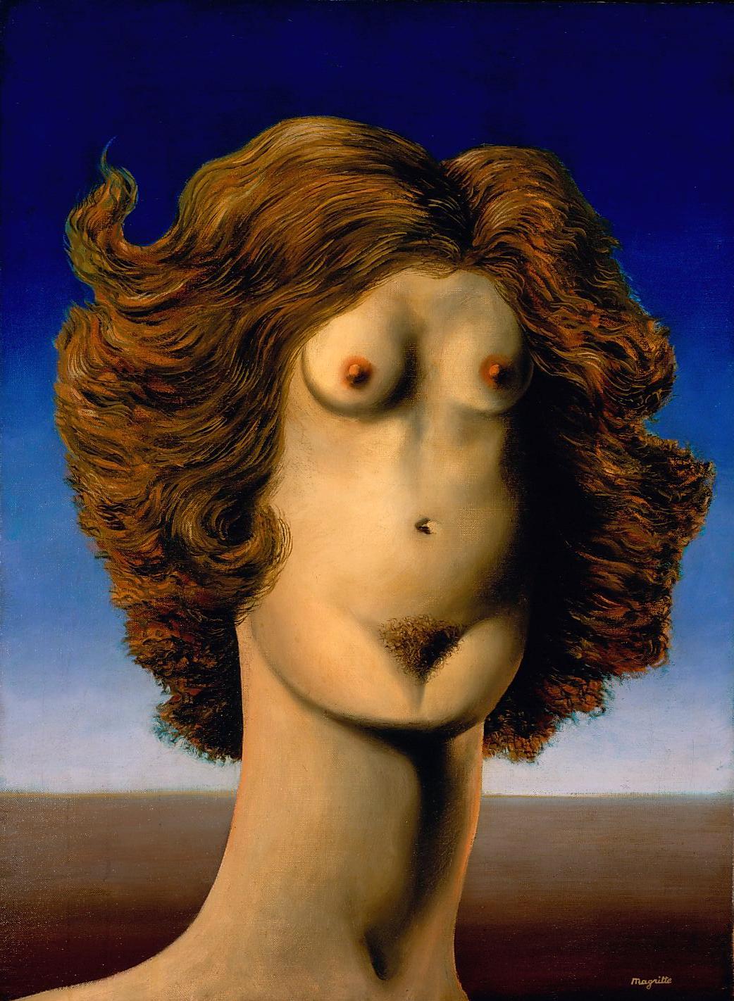The Rape, René Magritte
