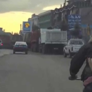 Inception: Watch A Goat Riding On A Guy Riding On A Bike