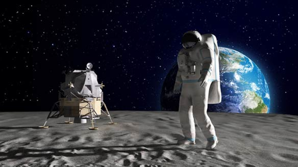 If You Believe Man Has Walked On The Moon, You're AMisogynist