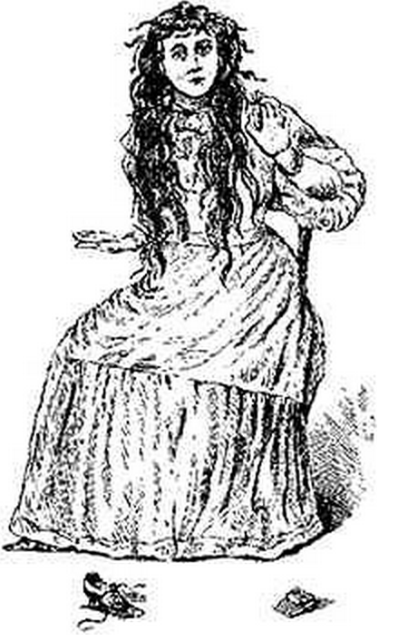 An artist's drawing of The Bell Witch,  Wikimedia Commons